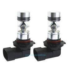 2x 9005 HB3 9145 H10 6000K 100W LED Cree Projector Fog Driving Light Bulb White