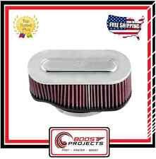 K&N Marine Flame Arrestor Oval Flange Oval Tapered Filter * 59-5020 *