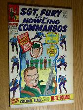 Sgt. Fury #41 G+ Dino Manelli fights again
