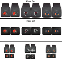 NFL 2pc and 4pc Mat Sets - Heavy Duty-Cars,Trucks, SUVs (ALL TEAMS)- Choose Team
