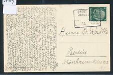 36109) Bayern, Bahnpost Ra4 OBERSTDORF IMMENSTADT Zug ??3, Karte 1938