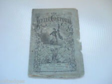 1870 THE LITTLE CORPORAL BOYS & GIRLS MAGAZINE ~ OLD ADVERTISEMENTS