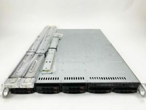 Supermicro 1U 36C V4 256GB DDR4 CSE-113 Chassis with X10DRW-iT MOBO vt