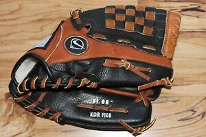 "Nike Keystone Diamond Ready RHT 11"" Leather Baseball Glove KDR1105 Brown Black"