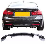 BMW 3 series F30 F31 M sport M tech performance QUAD rear bumper diffuser skirt