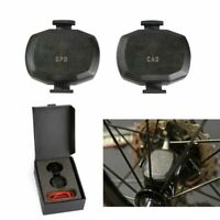 Wireless Ant+ Speed Cadence Sensor Kit For Garmin Edge 500 510 520 810 820 1000