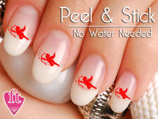 Valentine's Day Cupid Bow and Arrow Love Nail Decal Stickers LOV201