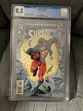 Superboy 0 1994 CGC 8.5 DC Comics 1st Cameo App Of King Shark Key