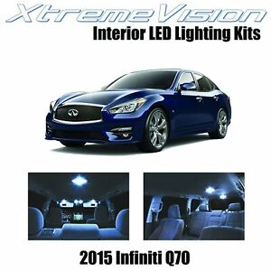 XtremeVision LED for Infiniti Q70 2015+ (13 Pieces) Cool White Premium Interior
