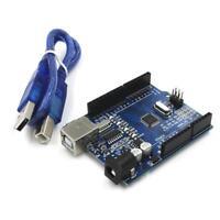 328P ATmega CH340G UNO R3 Board + USB Cable Compatible with Arduino';