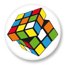 Magnet Aimant Frigo Ø38mm Rubik's Cube Cube de Rubik Casse Tête