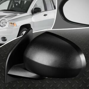 FOR 07-17 JEEP COMPASS OE STYLE POWERED DRIVER LEFT SIDE REAR VIEW DOOR MIRROR