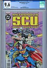 1994 DC COMICS METROPOLIS S.C.U. #1 CGC 9.6 1 0F 3 SUPERMAN - PLUS #2 #3 #4 NICE