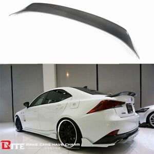 REAL Carbon Fiber AR Style Trunk Spoiler For LEXUS IS200t IS250 IS350 2014-2019