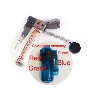 2 Pcs style windproof butane Gas Cigarette lighter