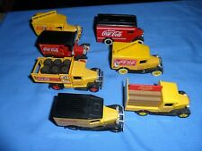 7 LOT Lledo Days Gone Diecast Model Coca Cola Coke 1/55 Scale Trucks Loose Mint