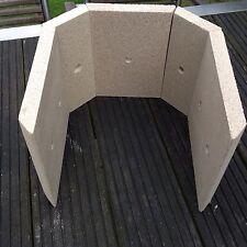Fireplace Brennraum Ersatzteile Steine Schamotte Vermiculite  Venus 5 Tlg