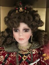 Collectible Memories Genuine Porcelain Doll Limited Collector's Edition Roxie 37