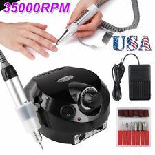 Electric Nail File Drill Manicure Machine Acrylic Pedicure Tools Kit Bits LC2632