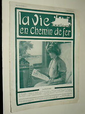 Magazine Train La Vie en Chemin de Fer N°5     1907 livre journal revue book