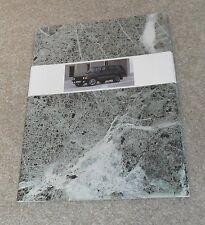 RANGE Rover CLASSIC opuscolo 1989 3.5 V8 VOGUE se VOGUE TURBO D 2.4