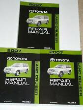 New listing 2007 Toyota Land Cruiser Repair Manual Vol 1 2 & 3 2006