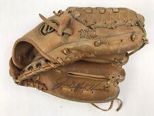 "Wilson A2160 Pro Model Baseball Glove Mitt Jim Catfish Hunter RHT Dual Hinge 11"""