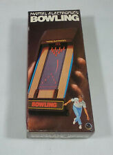 ★ MATTEL BOWLING - Jeu Electronique / Electronic Game LSI Tabletop 1980 ★