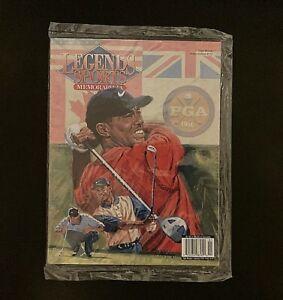 Legends Sports Memorabilia Magazine, Tiger Woods SEALED!