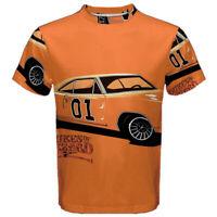 Dukes of Hazzard Sublimation Men's Sport Mesh Tee T-Shirt Size XS-5XL Free Ship