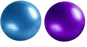 EXERCISE BALL 65CM YOGA GYM CORE FITNESS TRAINING PILATES MEDICINE SWISS POSTURE