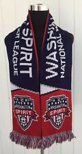 Washington Spirit Soccer Scarf - NWSL National Woman's League PACK THE PLEX