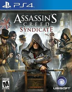 Assassins Creed Syndicate Playstation 4 PS4 PS5 Ubisoft Fighting Battle - New!
