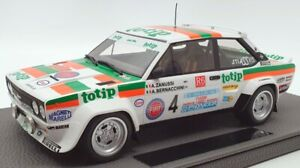 Top Marques 1/18 Scale TOP043H - Fiat 131 Abarth Totip #4 Rally D'Elba 1982