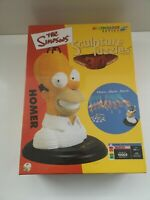 The Simpsons 3D Homer Sculpture Puzzle Layered Jigsaw 168 Layers - New (761)