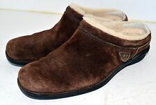 UGG Australia Shoreham Women's Brown Suede Mules Clogs Slides Shoes 5380 - US 7