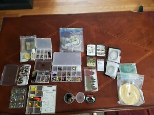 vintage fishing flies lot with extras