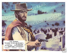 THE GOOD THE BAD AND THE UGLY LOBBY SCENE CARD # 7 POSTER 1966 CLINT EASTWOOD