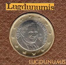 Vatican 2011 1 Euro BU FDC 94000 exemplaires Provenant du coffret BU RARE