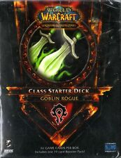 WOW WORLD OF WARCRAFT Class Starter Deck - Goblin Rogue NEW SEALED ENG