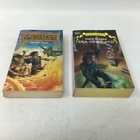 Lot of 2 1st Ed/Printing GARY GYGAX books: Artifact of Evil & Sea of Death
