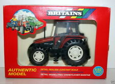 BRITAINS 1/32 - 9487 NEW HOLLAND 6635 TRACTOR (SMALL) RED VINTAGE FARM TOYS