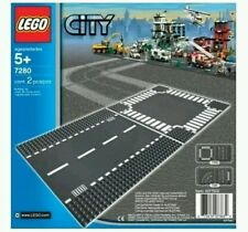 Lego 7280 Road Base Plates Crossroads Straight Baseplate brand new and sealed