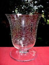 BACCARAT MICHELANGELO MICHEL ANGE WATER GLASS VERRE A EAU CRISTAL GRAVÉ ART DECO