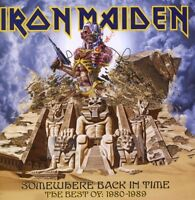 """IRON MAIDEN """"SOMEWHERE BACK IN TIME BEST OF"""" CD NEUWARE"""