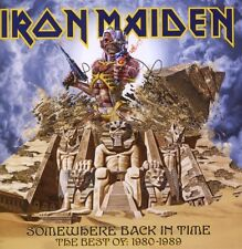 "IRON MAIDEN ""Somewhere Back in Time Best of"" CD NUOVO"