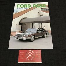 Vintage 1982 Ford Brochure Rare Japanese Mustang GT40 Lincoln Mercury 81 82 83