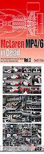 McLAREN MP4/6 '91 '92 DETAIL PHOTO REFERENCE f 1/12 HIRO TAMIYA TOP STUDIO SENNA