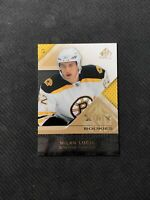 2009-10 UPPER DECK SP GAME USED MILAN LUCIC AUTHENTIC ROOKIE GOLD #ed 43/50