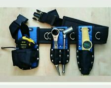 New Scaffolding Nylon Tools Belt Set with Double Frogs level holder Tape holder